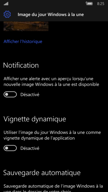 Capture de l'application téléphone n°6