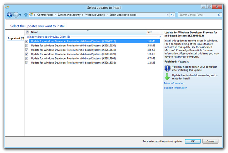windows-8-wdp-first-updates-for-developer-preview-build