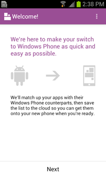 android-switch-to-windows-phone-app-welcome