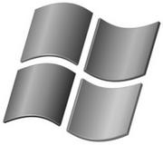Logo XP gris