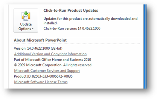 office-2010-beta-click-to-run-products-updates-panel