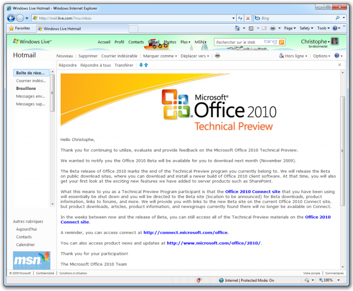 office-2010-technical-preview-end-program