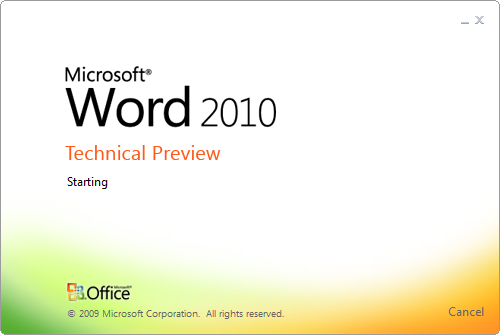 office-2010-technical-preview-word-splash