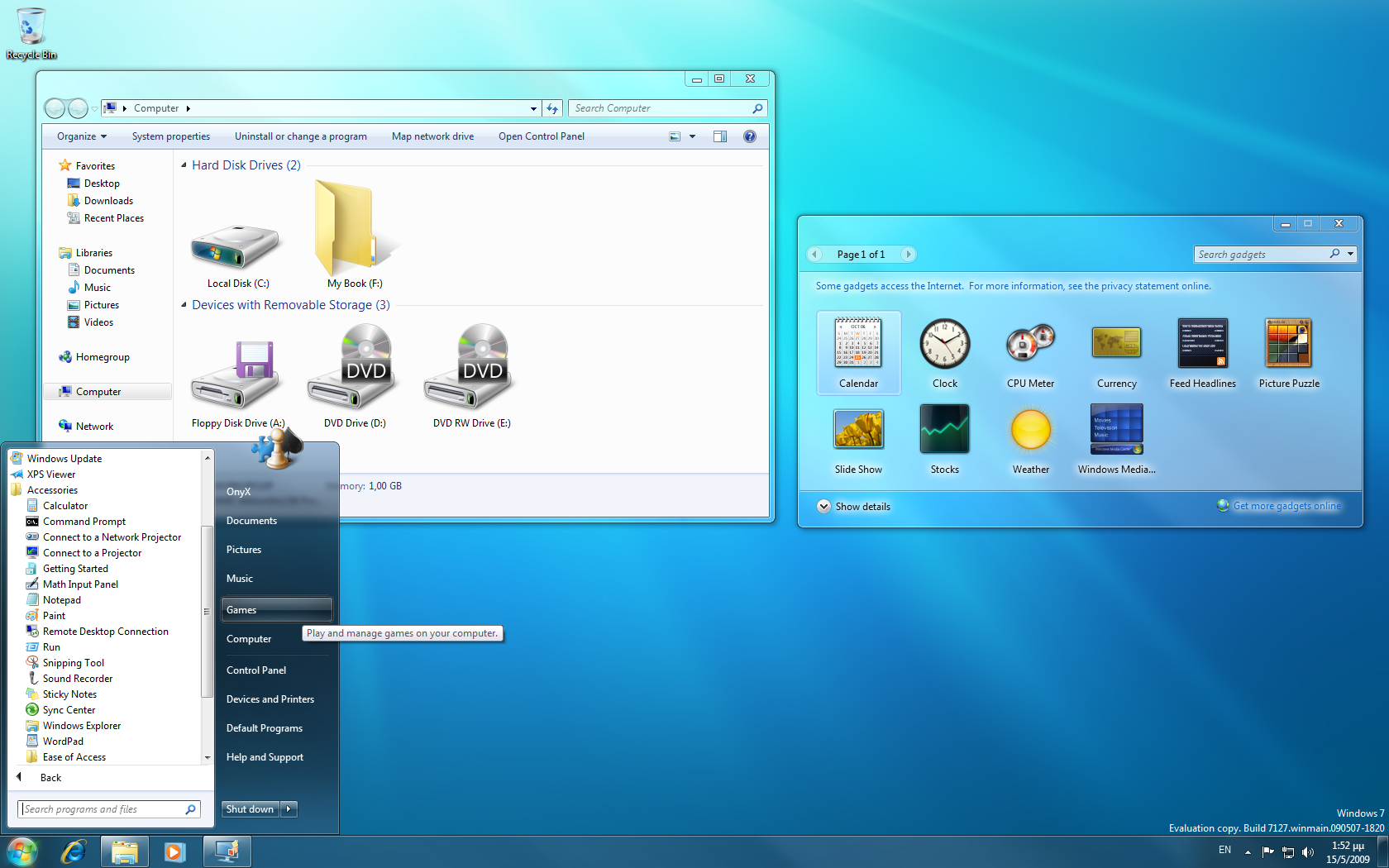 Windows 7 build 7127 leaked et captures d 39 crans pinnula - Open office windows 7 gratuit francais ...