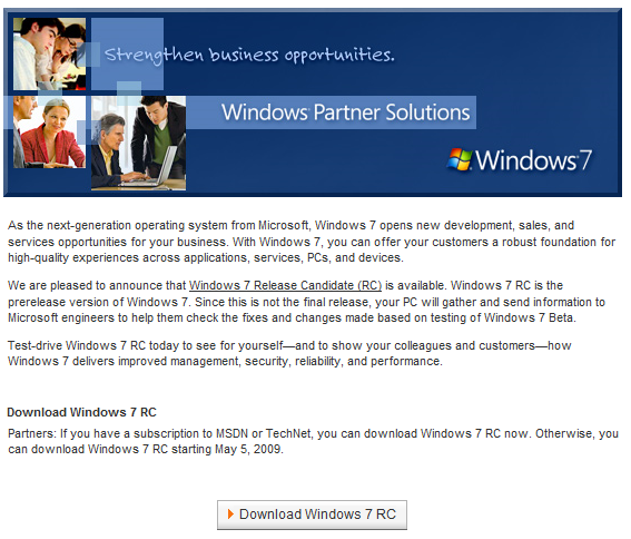 windows-7-rc-planning