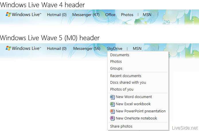 windows-live-wave-5-header-comparison