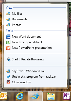 wlive-skydrive-wave5-2011-pin-skydrive-to-your-taskbar-to-access-with-one-click