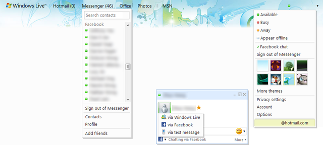 Rencontre windows live messenger